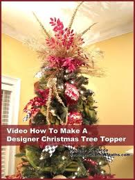 Christmas Tree Toppers Ideas by How To Make A Christmas Tree Topper Tree Toppers Christmas Tree