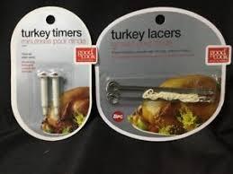 d lacer en cuisine lacer 2 pk pop up turkey timer set poultry for thanksgiving
