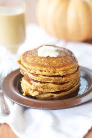 Easy Vegan Pumpkin Pancake Recipe by Pumpkin Buttermilk Pancakes