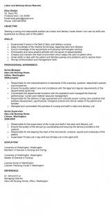 This Unbelievable Labor And Delivery Nurse Resume Examples