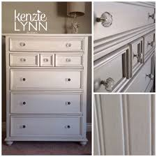 Shoal Creek Dresser Oiled Oak by Stanley Dresser Renewed With Benjamin Moore Winter White U0026 Taupe