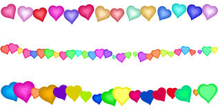 Free Clipart Heart Page Border Decorations