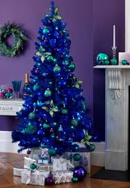 6ft Christmas Tree With Decorations by Blue Christmas Decorations U2013 Christmas Celebrations