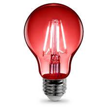 a19 clear glass led bulb feit electric