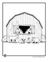 Farm Animals Barnyard 3 231x300 Animal Coloring Pages In The