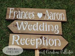 RUSTIC WEDDING SIGNS Wooden Wedding Signs By SweetNCCollective 7500