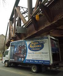 100 Truck Stuck Under Bridge Gets Stuck Under Broadway Rail Bridge