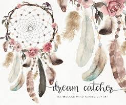 New Boho Watercolor Clip Art Dream Catcher High Quality Illustration On Transparent Background DIY Wedding Stationery Greeting Cards Wallpapers