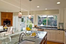 funky light fixtures kitchen contemporary with none