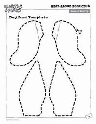 Dog Ears Outline Images Reverse Search For Template
