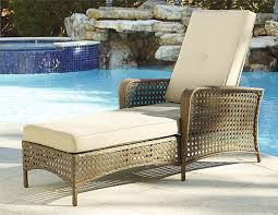 Amazon Patio Lounge Cushions by Amazon Com Cosco Outdoor Adjustable Chaise Lounge Chair Lakewood