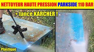 parkside nettoyeur haute pression phd 110 petit essai test buse