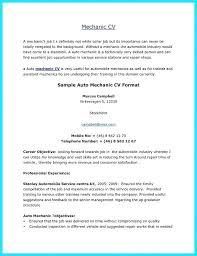 Mechanic Technician Resume Objective Peachy Ideas Automotive Diesel Job