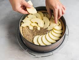 apfel mohn kuchen mit streuseln und einfach