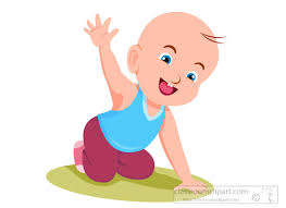 baby waving goodbye clipart 615