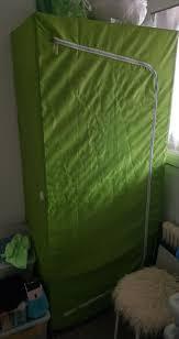 ikea kleiderschrank breim grün neuwertig 180x80x55 cm