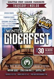 SEATTLE WINTER CIDERFEST - Ciders Of The Season! Tickets, Thu, Nov 8 ...