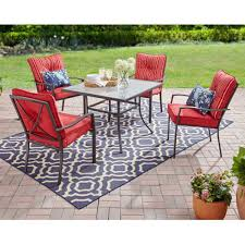 Amazon.com: Mainstays Forest Hills 5-Piece Dining Set With Cushioned ... Forest Rosedene 8 Seater Wooden Garden Table And Chairs Ding Set Buy New Pacific Direct 1020003196 Devana Accent Chair Natural Legs Green Plastic Porch Recling Armchair With High Back The Top Outdoor Patio Fniture Brands Ecofriendly 7piece Wood With Oval Extension Deep Log Other Black Cabana Home Patio Ding Set 5 Piece Cushions Bistro Forest Armchair From Fast Architonic Archiexpo Emagazine For A Gathering 10 Best Garden Benches Ipdent