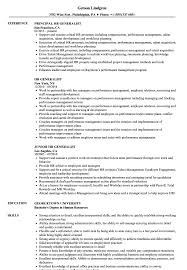 HR Generalist Resume Samples | Project Manager Resume ...