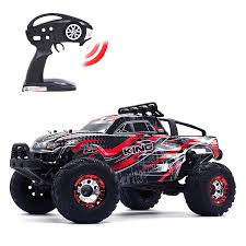 100 Brushless Rc Truck KELIWOW RC Car Crawler 112 Scale 4WD 1864 MPH Remote Control OffRoad Racing Vehicle RTR C05Red