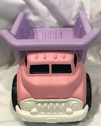 100 Pink Dump Truck Green Toys Purple Girls Made Recycled Plastic SHIPS