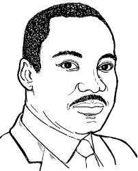 Mighty Fighter Martin Luther King Coloring Pages All About Free For Kids