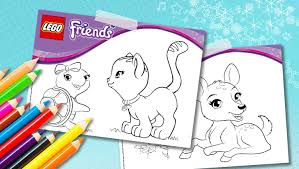 Download Cute Animal Coloring Sheets
