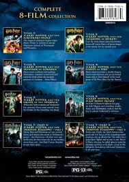 Amazoncom Harry Potter The Complete 8Film Collection Bluray
