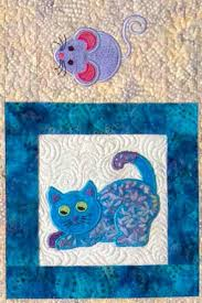Cat Quilts Patterns Lunch Box Quilts Cats Meow Embroidery Pattern