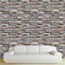 3d ziegel wand papier moderne ziegel stein muster tapete aufkleber rolle für wohnzimmer wand abdeckt wohnkultur