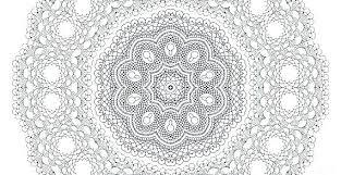 Free Printable Mandalas Coloring Pages Adults Online Mandala