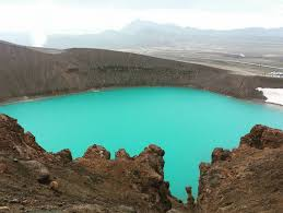 Viti Meaning Hell In Krafla Is An Explosion Crater It One Of The Two Most Famous Craters Iceland Other Being Askja