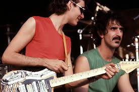 Back In Time Frank Zappa X Steve Vai Amazing Live Guitar Battle