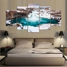 5 panels wandmalerei für schlafzimmer wandbild leinwand