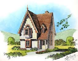 As You Can See Its Very Tall For Such A Small House The Also Cries Out Overgrown Viney Art Noveau Landscaping