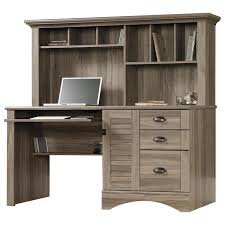 Sauder Harbor View Dresser Salt Oak by Harbor View Computer Desk With Hutch In Salt Oak Nebraska