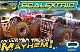 C1302 Scalextric Monster Truck Mayhem Set Is Monster Jam Family Friendly East Valley Mom Guide Go For A Drive In Speedster Pirates Curse Trucks Hit The Dirt Rc Truck Stop Worlds Faest Truck Gets 264 Feet Per Gallon Wired A Vector Illustration Of Jumping On Cars Royalty Free 124 Scale Die Cast Metal Body Cgd63 World Finals 15 Wiki Fandom Powered Monster Truck Just Little Brit With Animals Race Track Stock Art More 2016 Sicom Blaze And Release Date 2018 Keep Track Of Stunt Challenge Ramp Storage Case