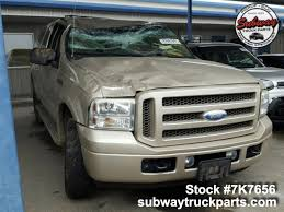 100 Wrecked Ford Trucks For Sale Used 2005 Excursion 68L Parts For Subway Truck Parts