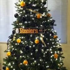 I Really Want To Do A Small Christmas Tree Decorated In Steelers Black Gold This Yearin Addition The Normal