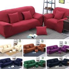 Red Sofa Covers Stretch Solid Cover Brown Throws Dining Room Chair Slipcovers