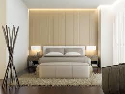 plante verte dans une chambre à coucher chambre harmonie complète dans la chambre à coucher