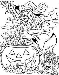 Halloween Witch Making A Magic Potion Source Fcrhb