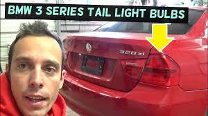 bmw e90 light rear turn signal brake light bulb replacement