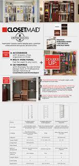 ClosetMaid Impressions 14 58 in x 25 in White Laminate 4 Shelf