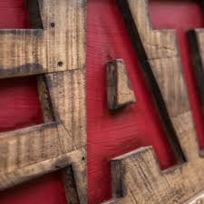 Eat Sign Rustic Country Kitchen Decor Farmhouse Cottage