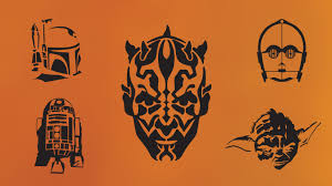 Nerdy Pumpkin Stencils by Star Wars Pumpkin Stencils Halloween Ideas Pinterest