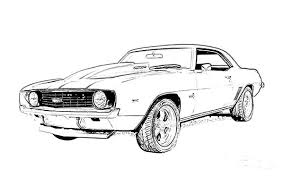 Amazing Camaro Coloring Pages 80 In Picture Page With
