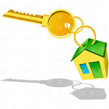 House With Key Icon Royalty Free Vector Clip Art