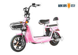 20ah 12ahelectric Moped Scooter For Teenagers Front Drum Brake 48V Brushless Motor