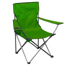 QuikChair 146109DS Green Lightweight Folding Chair W/ Carry Bag